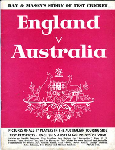 1953-England-v-Australia-Ashes-Tour-Day-and-Mason-story-of-test-cricket-memorabilia-history-fixtures-team-photos-test-match-prospects-trueman-hutton-beanud