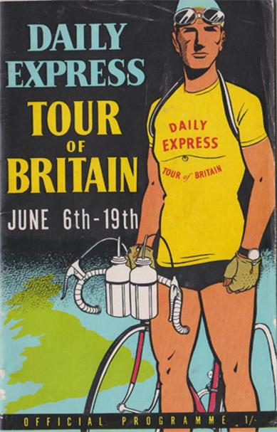1954-Tour-of-Britain-official-programme-daily-express-june-6th-19th-milk-race-great-yarmouth-london-cycle-cycling-memorabilia-bicycle-Eugene-Tamburlini-winner