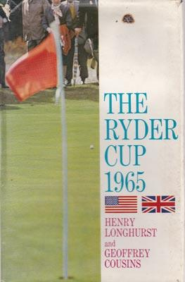 1965-ryder-cup-golf-memorabilia-book-henry-longhurst-geoffrey-cousins-royal-birkdale-great-britain-usa