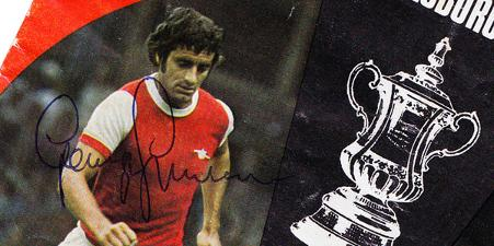 1973-Arsenal-FC-memorabilia-Gunners-FA-Cup-Semi-Final-George-Graham-signed-cover-autograph-signature