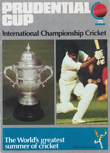 1975-CRICKET-WORLD-CUP-PROGRAMME-PRUDENTIAL-Cup-International-Championship-England-cricket-memorabilia-Jiminy-West-Indies