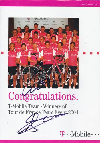 2004-Tour-of-Britain-programme-signed-cycling-memorabilia-andreas-klier-autograph-team-t-mobile-germany-de-france-champions-signature