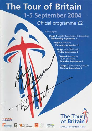 2004-Tour-of-Britian-programme-signed-phil-liggett-autograph-british-cycling-memorabilia-signature
