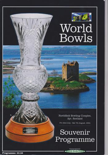2004-World-Outdoor-championships-Bowls-memorabilia-Scotland-signed-autograph-programme-David-Gourlay-Mervyn-King-Willie-Wood-Steve-Glasson-cover