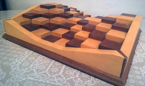 3D-Chess-Board-Wooden-three-dimensional