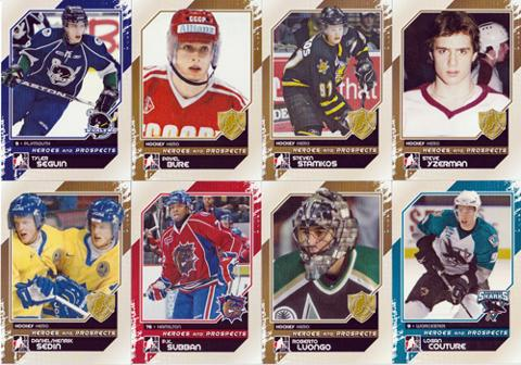 AHL-NHL-In-The-Game-Heroes-ice-Hockey-Player-Cards-seguin-bure-stamkos-luongo-yzerman-sedin-twins-couture-subban-boxed