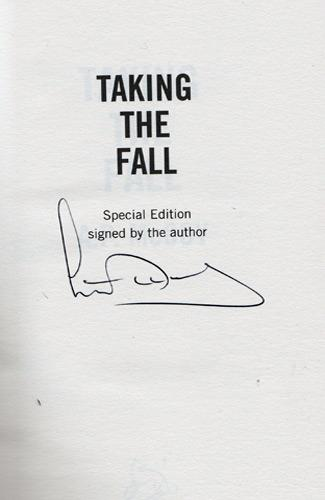AP-McCoy-memorabilia-AP-McCoy-autograph-signed-novel-taking-the-fall-horse-racing-memorabilia-author-fiction-first-edition--AP-McCoy-signed-national-hunt-jockey-signature