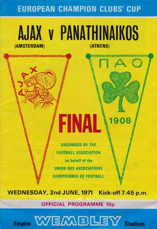 Ajax-football-memorabilia-amsterdam-v-panathinaikos-1971-european-cup-final-wembley-stadium-programme-johan-cruyff-holland-athens-uefa