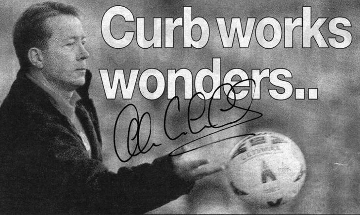 Alan Curbishley autograph Charlton Athletic memorabilia signed photo