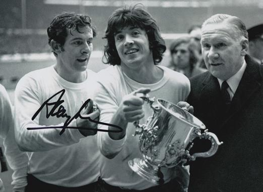 Alan-Mullery-memorabilia-Tottenham-Hotspur-Spurs-signed-League-Cup-winners-photo-autograph-Bill-Nicholson