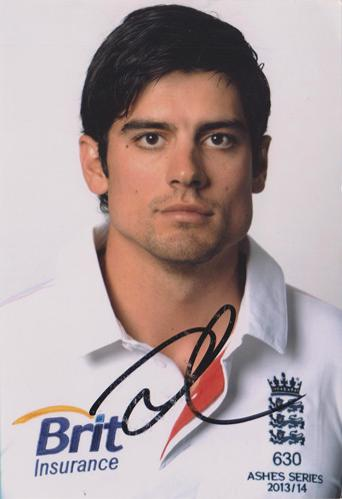 Alastair-Cook-autograph-Alastair-Cook-memorabilia-signed-England-cricket-memorabilia-captain-Essex-CCC-ashes-Chef-signature