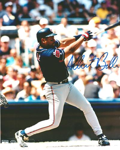 Albert-Belle-autograph-signed-Cleveland-Indians-baseball-memorabilia-mlb-signed-slugger-home-runs-mvp-major-league-dh-hall-of-fame-the-tribe