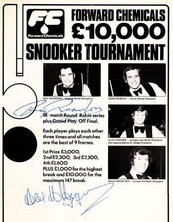 alex higgins snooker