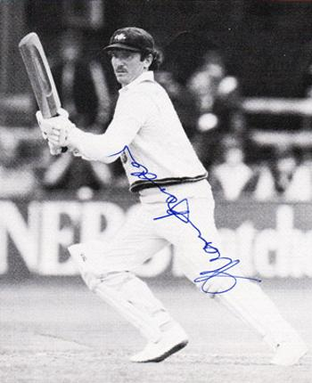 Allan-Border-autograph-signed-Australia-cricket-memorabilia-batsman-Ashes captain-aussie