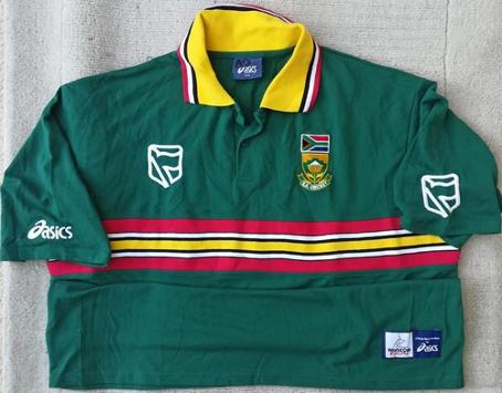 Allan-Donald-signed-Warwickshire-cricket-memorabilia-south-africa-1999-world-cup-playing-shirt-match-worn-white-lightning-fast-bowler-coach