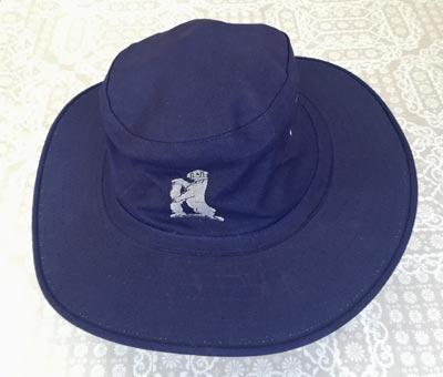 Allan-Donald-signed-Warwickshire-cricket-memorabilia-south-africa-white-lightning-fast-bowler-coach-hat-warks-ccc-logo