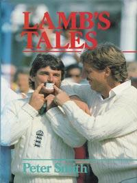 Allan-Lamb-autograph-signed-england-cricket-memorabilia-book-lambs-tales-northants-ccc-lamby-signature-first-edition-peter-smith-1985