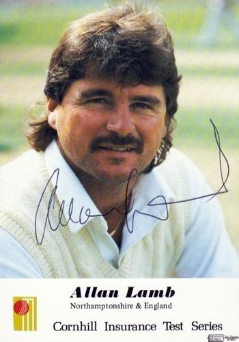 Allan-Lamb-signed-England-cricket-player-autograph-card