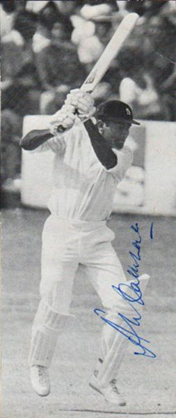 Alvin-Kallicharan-autograph-signed-Warwickshire-Warks-ccc-county-West-Indies-cricket-memorabilia-Guyana-batsman-test-match-left-hander-signature