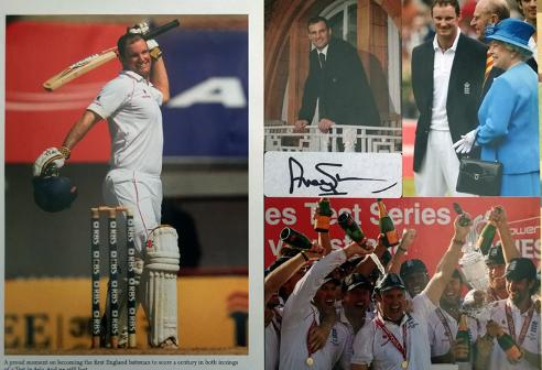 Andrew-Strauss-autograph-signed-England-cricket-memorabilia-Middlesex-CCC-captain-test-ashes
