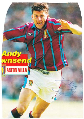 Andy-Townsend-autograph-signed-Aston-Villa-fc-football-memorabilia-signature-republic-of-ireland-chelsea-welling-united-midfielder