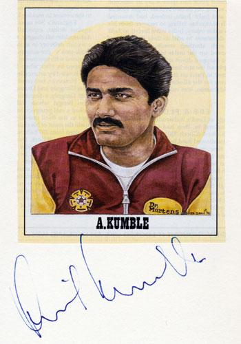 Anil-Kumble-signed-Indian-cricket-photo-card