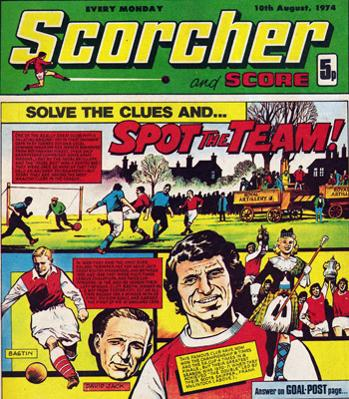 Arsenal-Spot-the-Team-1974-Scorcher-front-cover