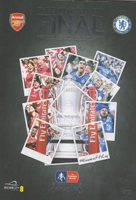 Arsenal-football-memorabilia-AFC-2017-FA-Cup-Final-programme-wembley-stadium-chelsea-2-1-winners-gunners