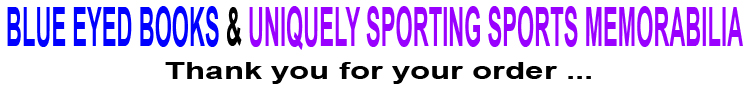 Blue eyed books Uniquely sporting sports memorabilia
