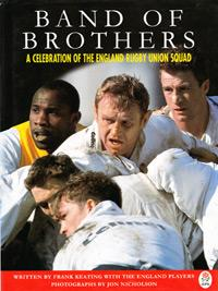 Band-of-Brothers-England-Rugby-Union-memorabilia-1996-Frank-Keating-signed-copy-Mike-Catt-Jon-Sleightholme-autograph