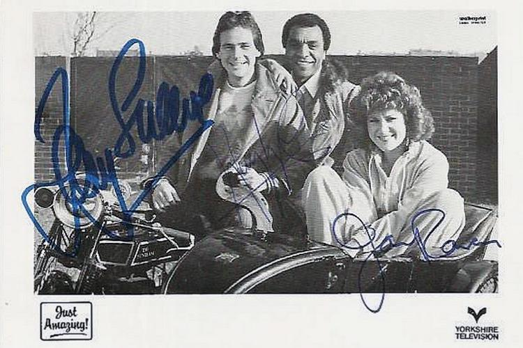 Barry-Sheene-autograph-signed-motor-cycle-bike-memorabilia-just-amazing-tv-kenny-lynch-jan-ravens-world-champion-grand-prix