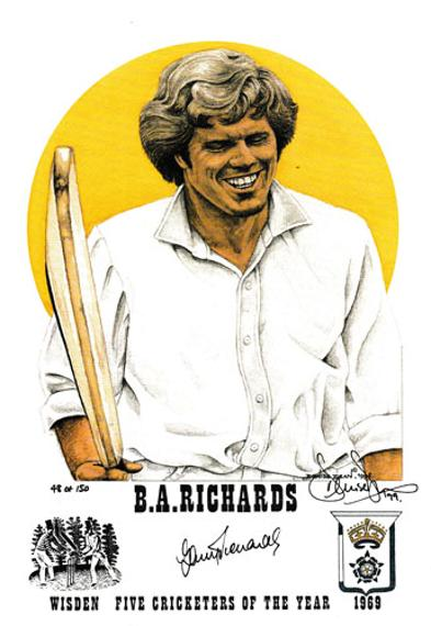 Barry-richards-autograph-signed-south-africa-cricket-memorabilia-hants-ccc-1969-wisden-cricketer-of-the-year-denise-dean-artist