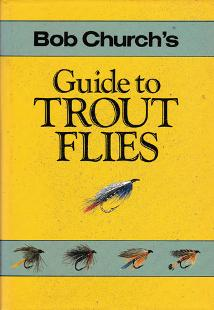 Bob-Church-autograph-signed-book-guide-to-trout-flies-1987-first-edition-fly-fishing-memorabilia