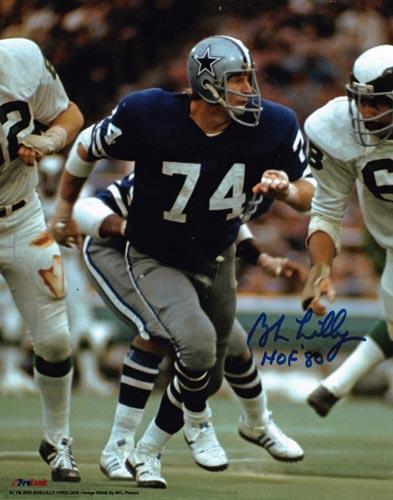 Bob-Lilly-autograph-signed-dallas-cowboys-football-memorabilia-hall-of-fame-defensive-tackle-mr-cowboy-tcu-nfl