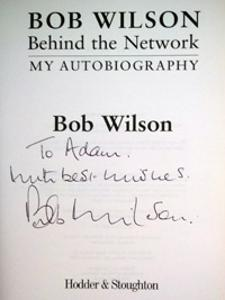 BOB WILSON (Arsenal & Scotland) signed copy of