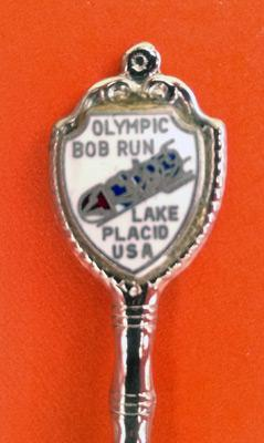 Bobsleigh-memorabilia-Lake-Placid-Winter-Olympic-Games-1980-Bob-Run-Tea-Spoon-Fort-USA-Olympics-Silver