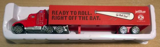 Boston-Red-Sox-memorabilia-2015-Boston-Red-Sox-Toy-Truck-Ready-To-Roll-Right-Off-The-Bat-Bluejet-Box-Boxed-Moving-Truck-Bosx-Red-Sox-Nation-collectables
