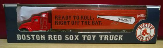 Boston-Red-Sox-memorabilia-2015-Boston-Red-Sox-Toy-Truck-Ready-To-Roll-Right-Off-The-Bat-Bluejet-Box-Boxed-Moving-Truck-Bosx-Red-Sox-Nation-collectibles