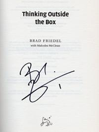 Brad-Friedel-signed-autobiography-auotgraph-Thinking-Outside-the-box-Spurs-Villa-USA-goal-keeper