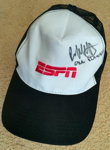 Brad-Pickett-autograph-signed-mma-ufc-memorabilia-one-punch-cap-espn-bantamweight-champion-cage-fighter
