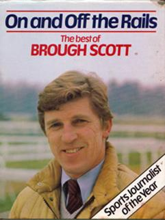 Brough-Scott-signed-autobiography-on-and-off-the-rails-horse-racing-memorabilia-channel-4-tv-racing-post-tipster-timeform-200