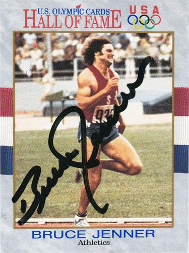 Bruce-Jenner-autograph-signed-decathlon-athletics-memorabilia-USA-Hall-of-Fame-card-Olympic-Games-champion-1976-Montreal-Caitlyn-Jenner-Kardashian