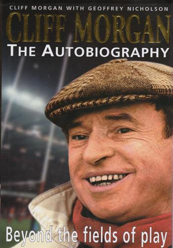CLIFF-MORGAN-memorabilia-signed-autobiography-Beyond-The-Fields-Of-Play-Wales-rugby-memorabilia-autographed-book