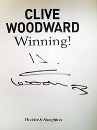CLIVE-WOODWARD-autograph-signed-signed-autobiography-Winning-2003-world-cup-winning-coach-England-rugby-memorabilia-autographed-signature