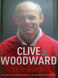 SIR CLIVE WOODWARD (2003 World Cup winning coach) signed Rugby Book