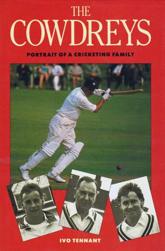 COLIN-COWDREY-autograph-signed-biography-The-Cowdreys-Chris-Cowdrey-memorabilia-Graham-Cowdrey-kent-cricket-memorabilia-england-MCC-signature-Ivo-Tennant-1990
