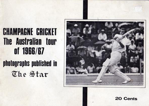 Champagne-Cricket-The-Australian-Tour-Of-1966-67-south-africa-the-star-publication-booklet-aussie