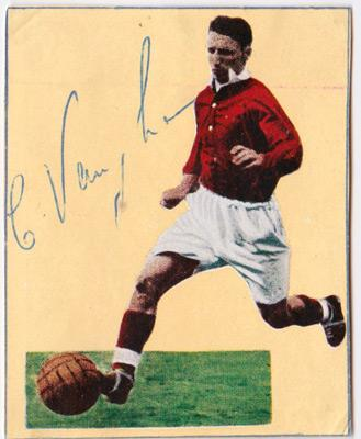 Charlie Vaughan autograph-signed-Charlton-Athletic-FC-football-memorabilia-signature-photo-CAFC-Addicks