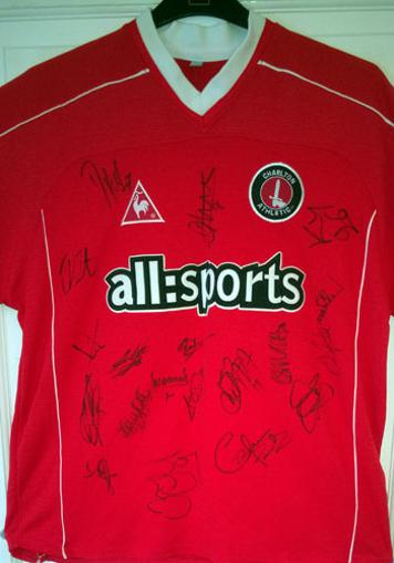 Charlton Athletic CAFC team signed shirt 2005 squad football memorabilia