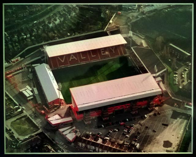 CAFC Charlton Athletic memorabilia The Valley photo